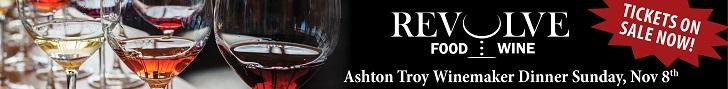 Revolve Nov 8 winemaker dinner
